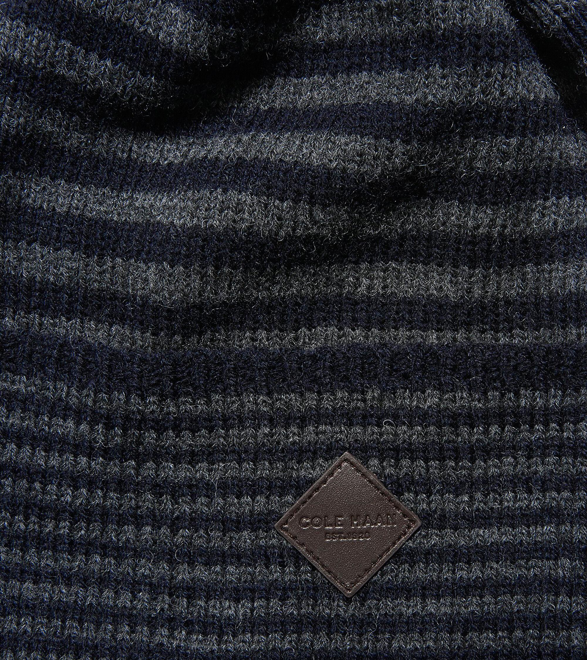 57e3a4104f3 Men s Double Stripe Cuff Hat in Marine-Charcoal