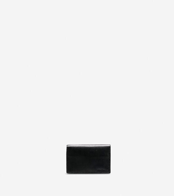 Mens washington grand business card case in black cole haan accessories washington grand business card case colourmoves