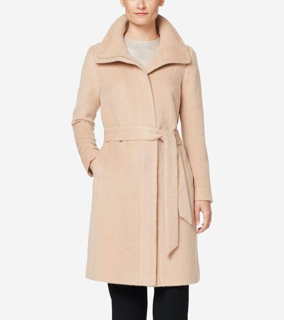 Outerwear > Suri Alpaca Wrap Coat