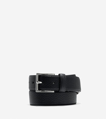 32mm Pebble Leather Belt