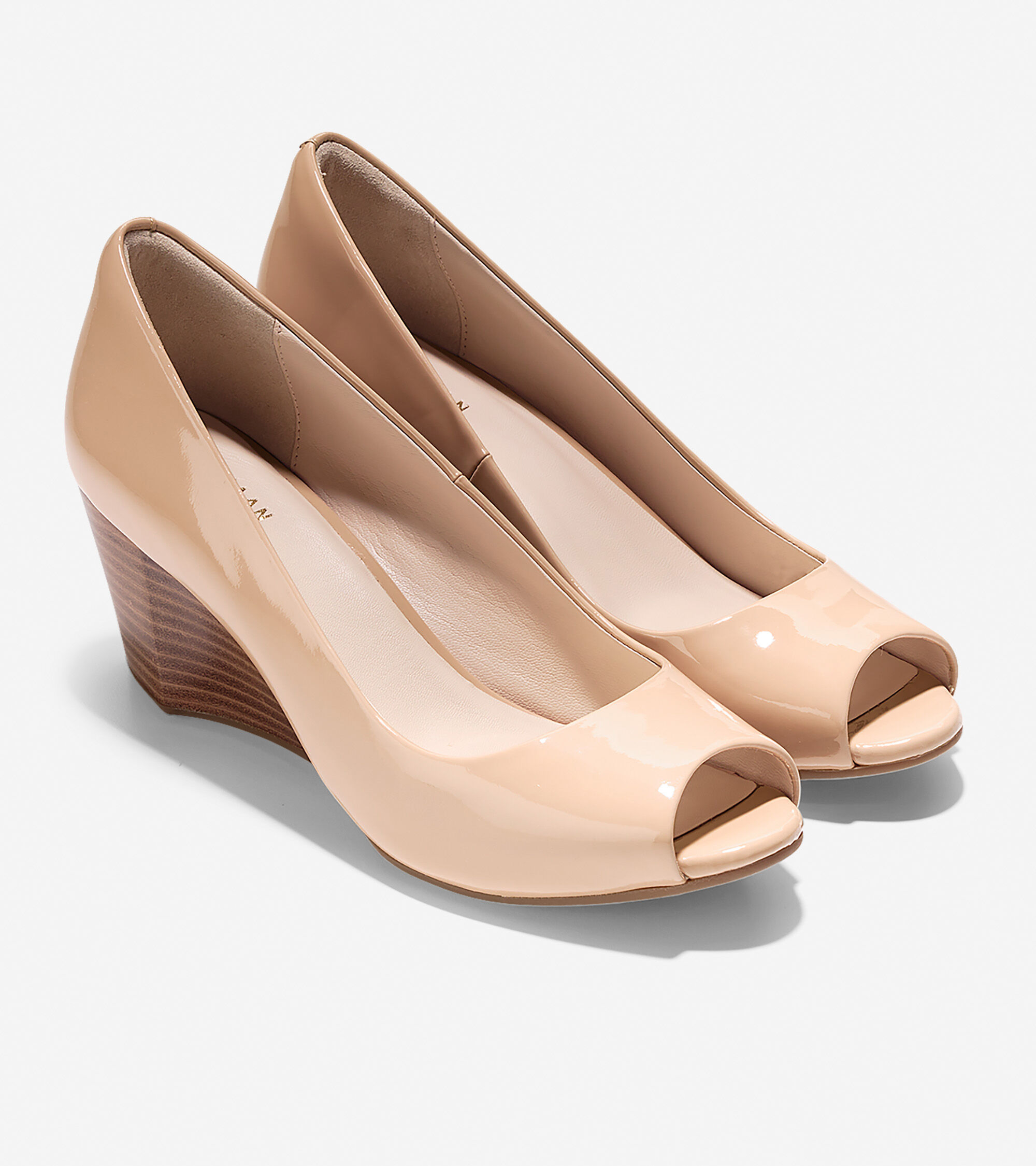 e63a7d58c02 Women s Sadie Open Toe Wedges 65mm in Nude