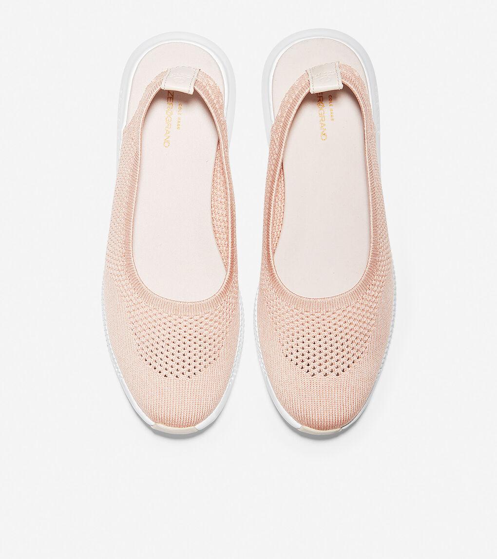 Womens 2.ZERØGRAND Sling Ballet Flat