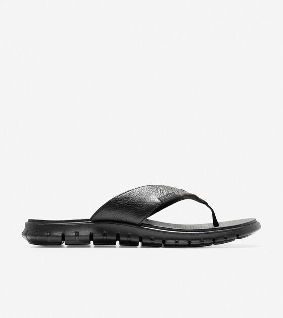 ae14db49b65d Men s ZEROGRAND Thong Sandals in Black