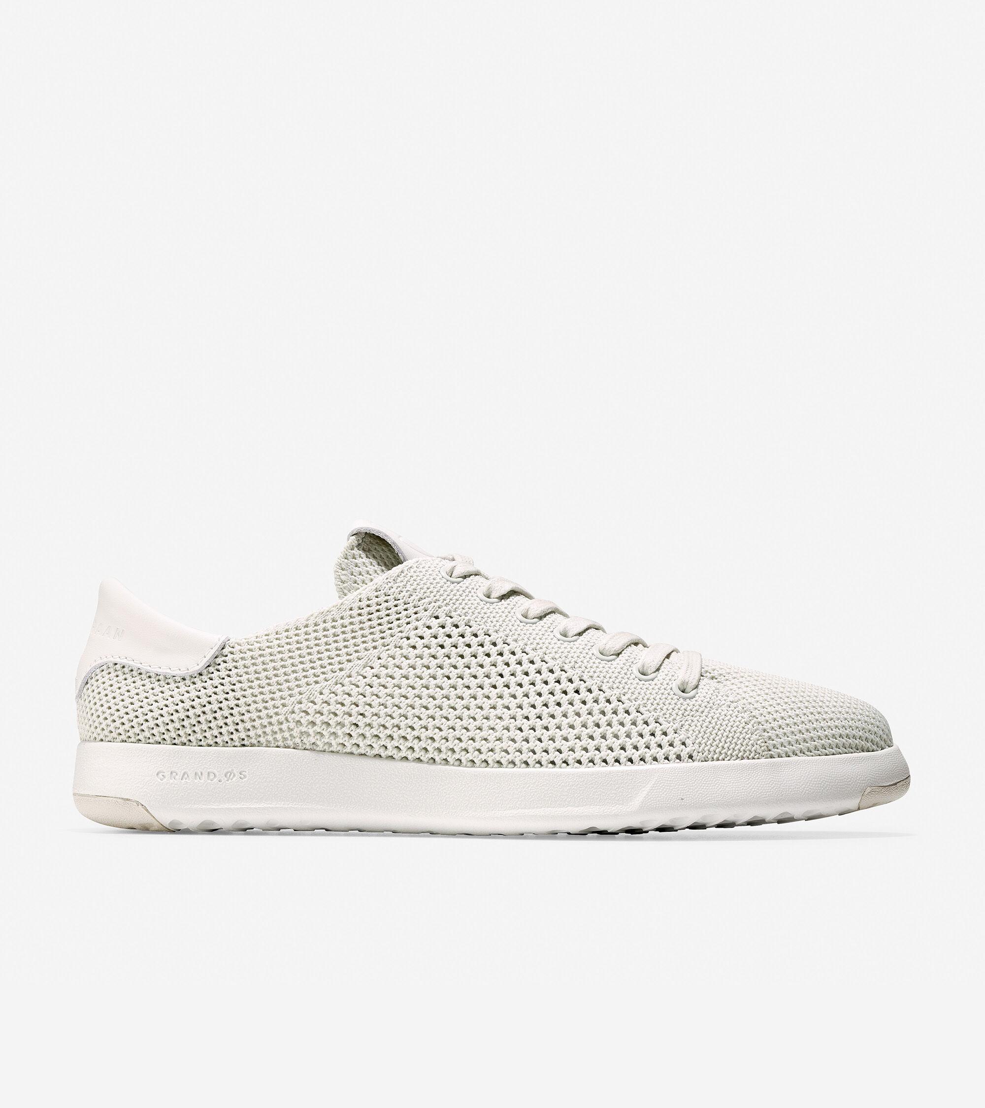 Tennis Sneaker in Chalk Stitchlite