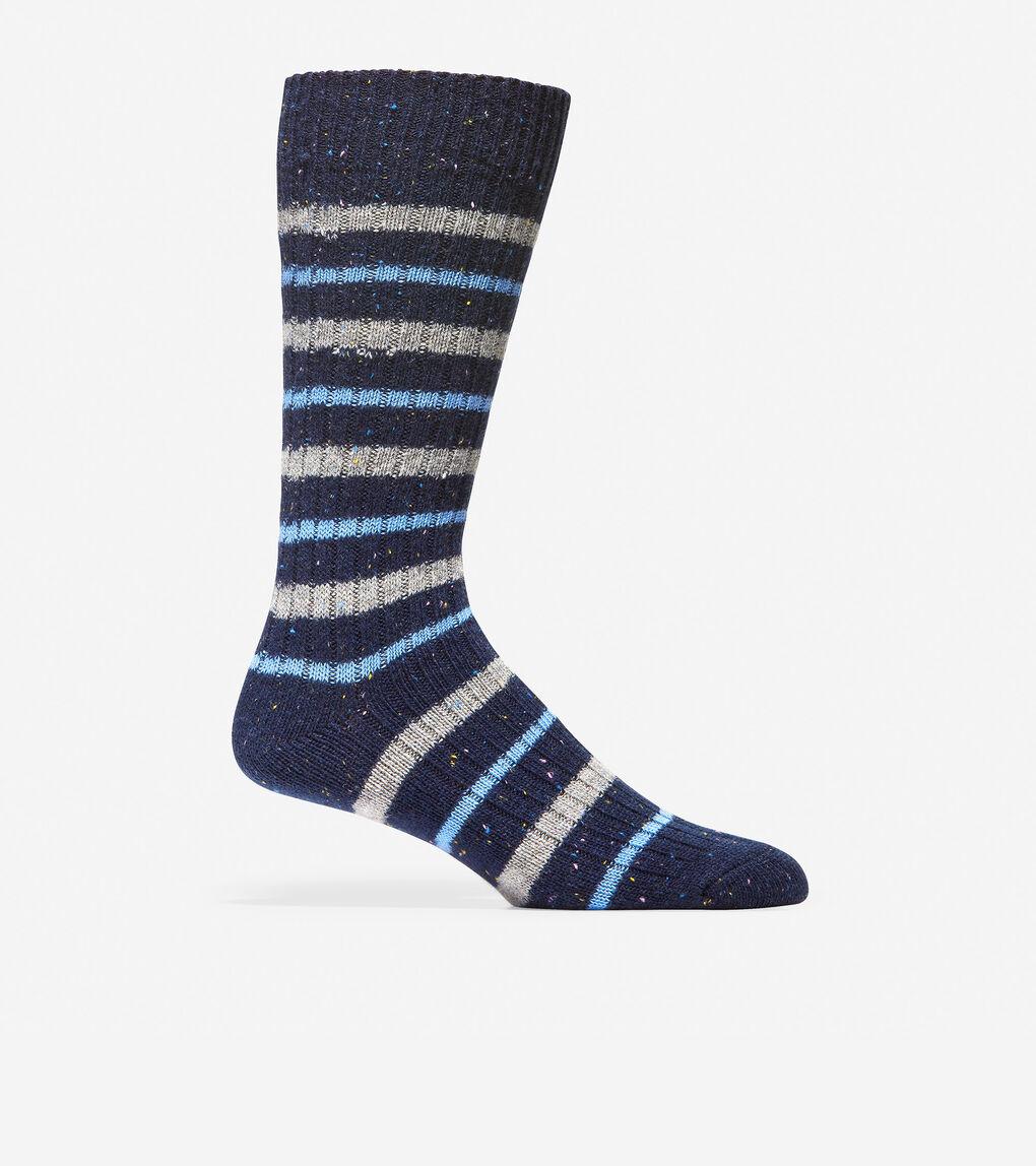 Mens Wool Stripe Socks