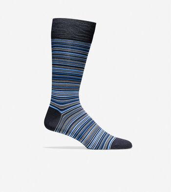 Multi Stripe Crew Socks