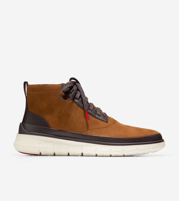 Cole Haan Generation ZEROGRAND High Top Sneaker (Earthen Suede)