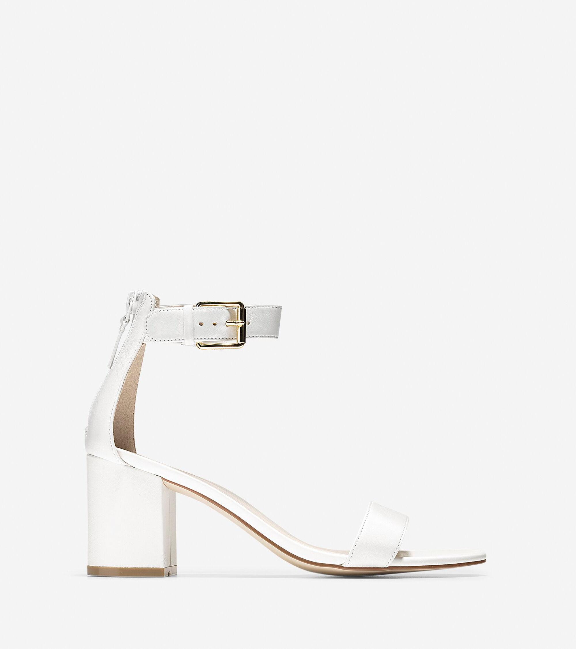 04e22fce7abe Women s Clarette Sandals 75mm in White   Sale
