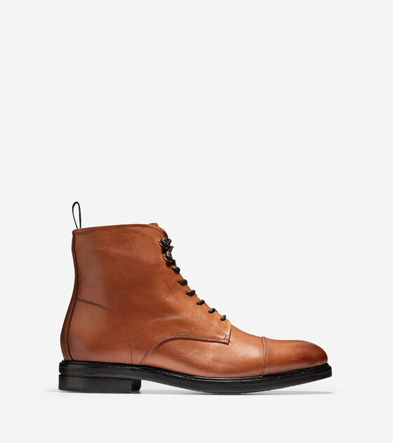 Boots > Wagner Grand Waterproof Cap-Toe Boot