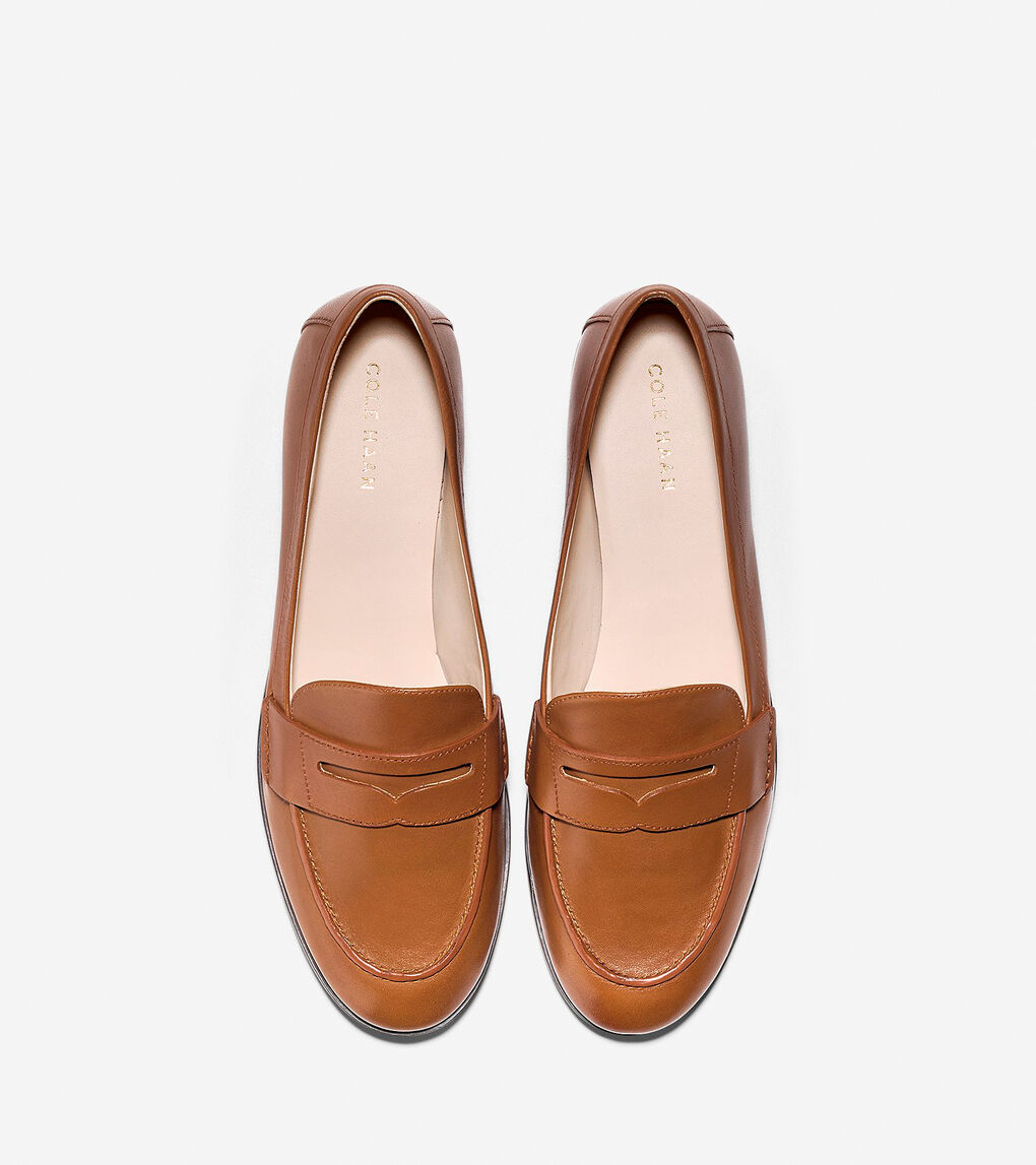 Women's Pinch Grand Penny Loafer in British Tan | Cole Haan US