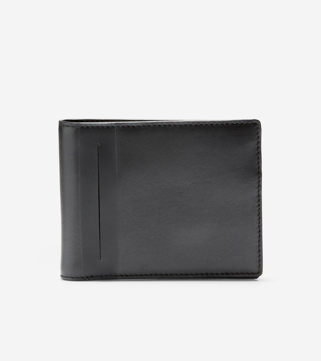 MENS Stripe Billfold Wallet