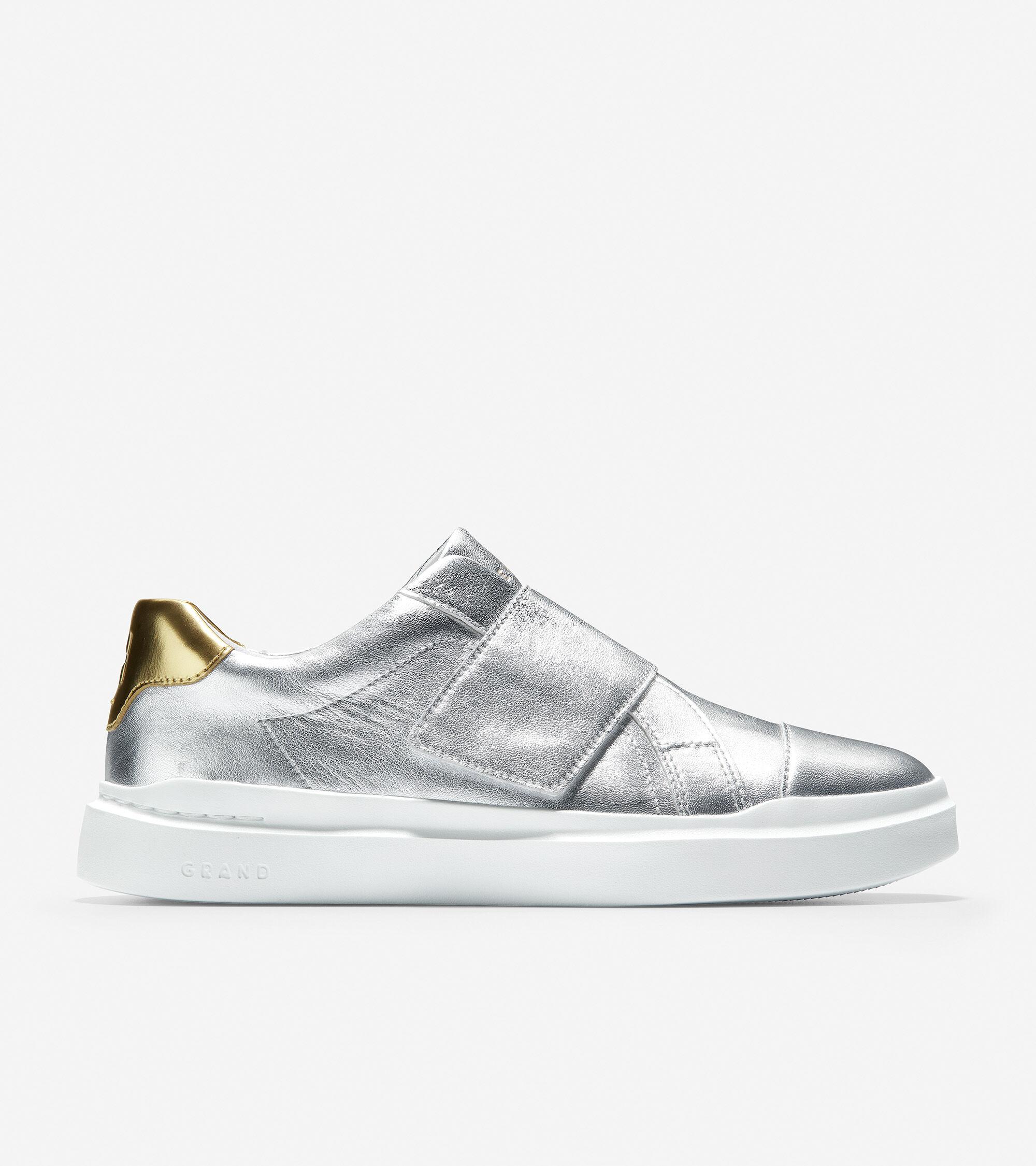 Silver-Gold Metallic Leather