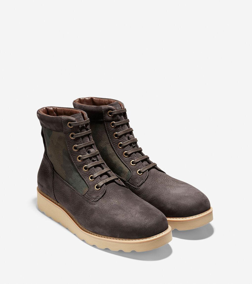 Mens Nantucket Rugged Plain Toe Boot