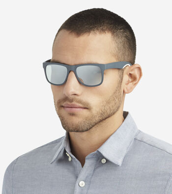 Men's Sport Rectangle Sunglasses