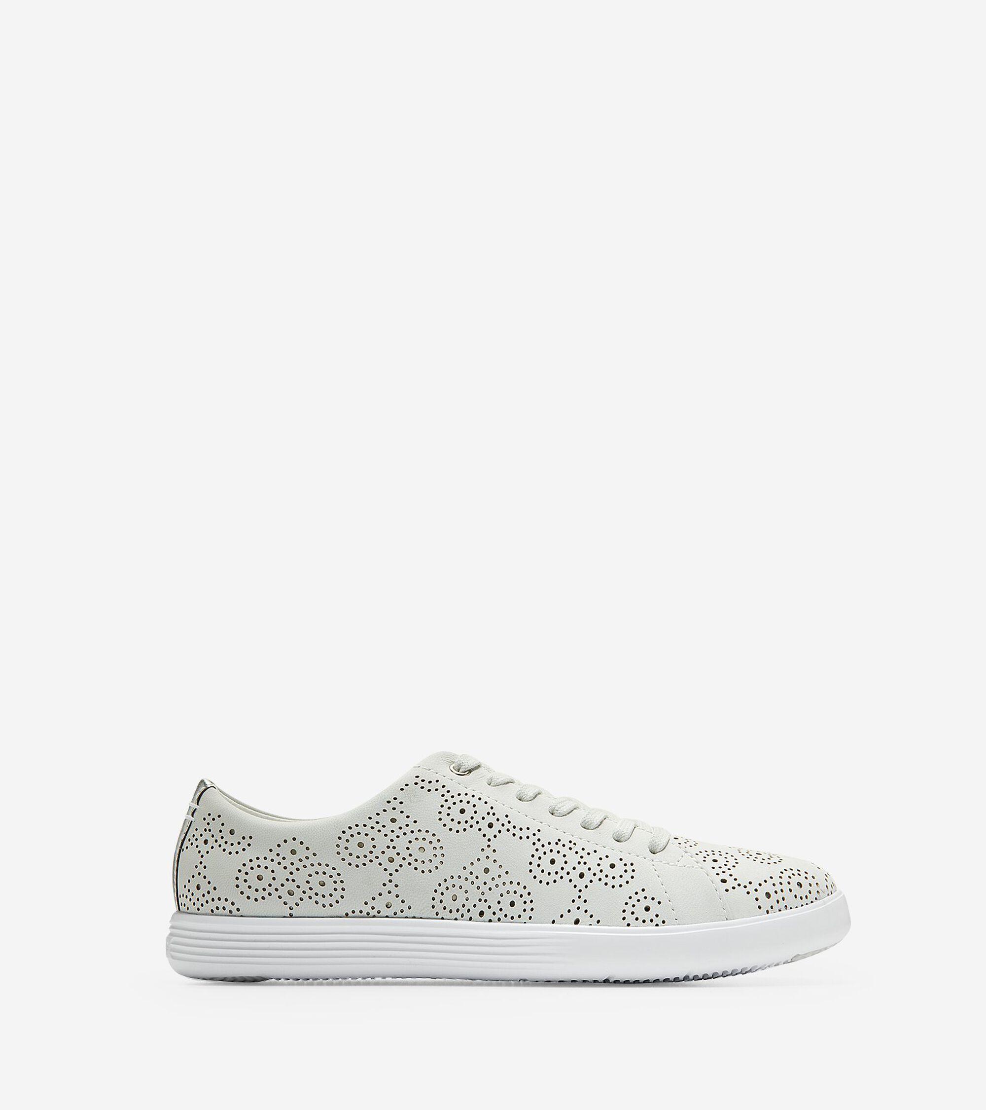 Cole Haan Women's Grand Crosscourt Perforated Sneaker