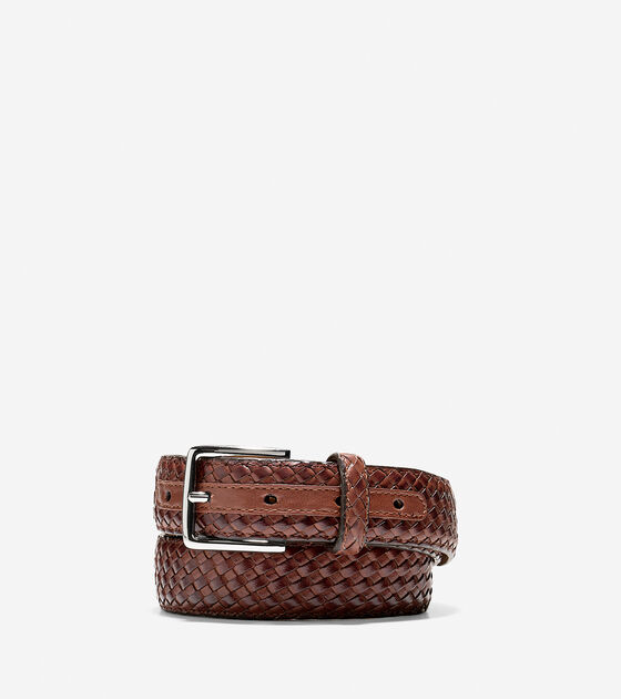 Accessories > 30mm Feather Edge Woven Belt