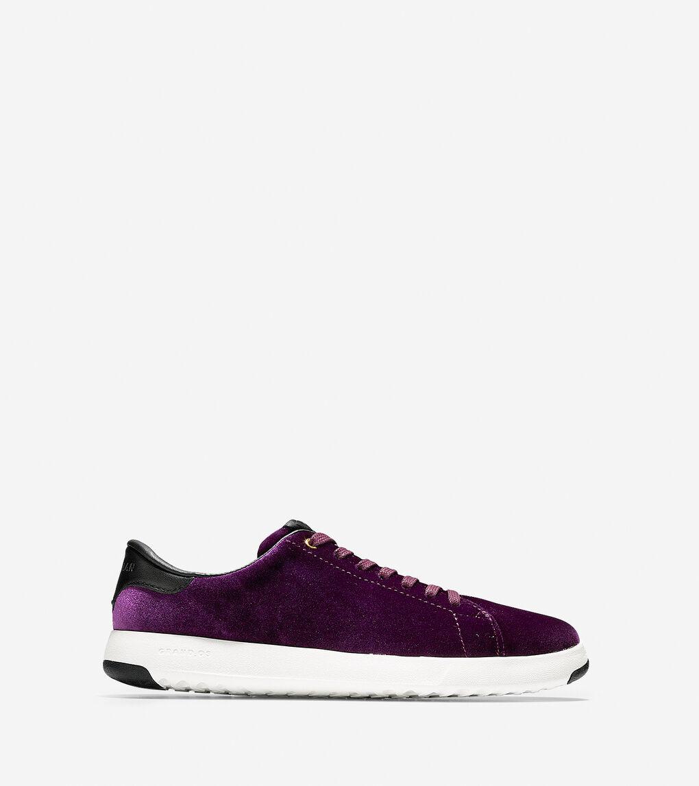 521ac4c3f35a Women's GrandPro Tennis Sneakers in Malbec-White | Cole Haan