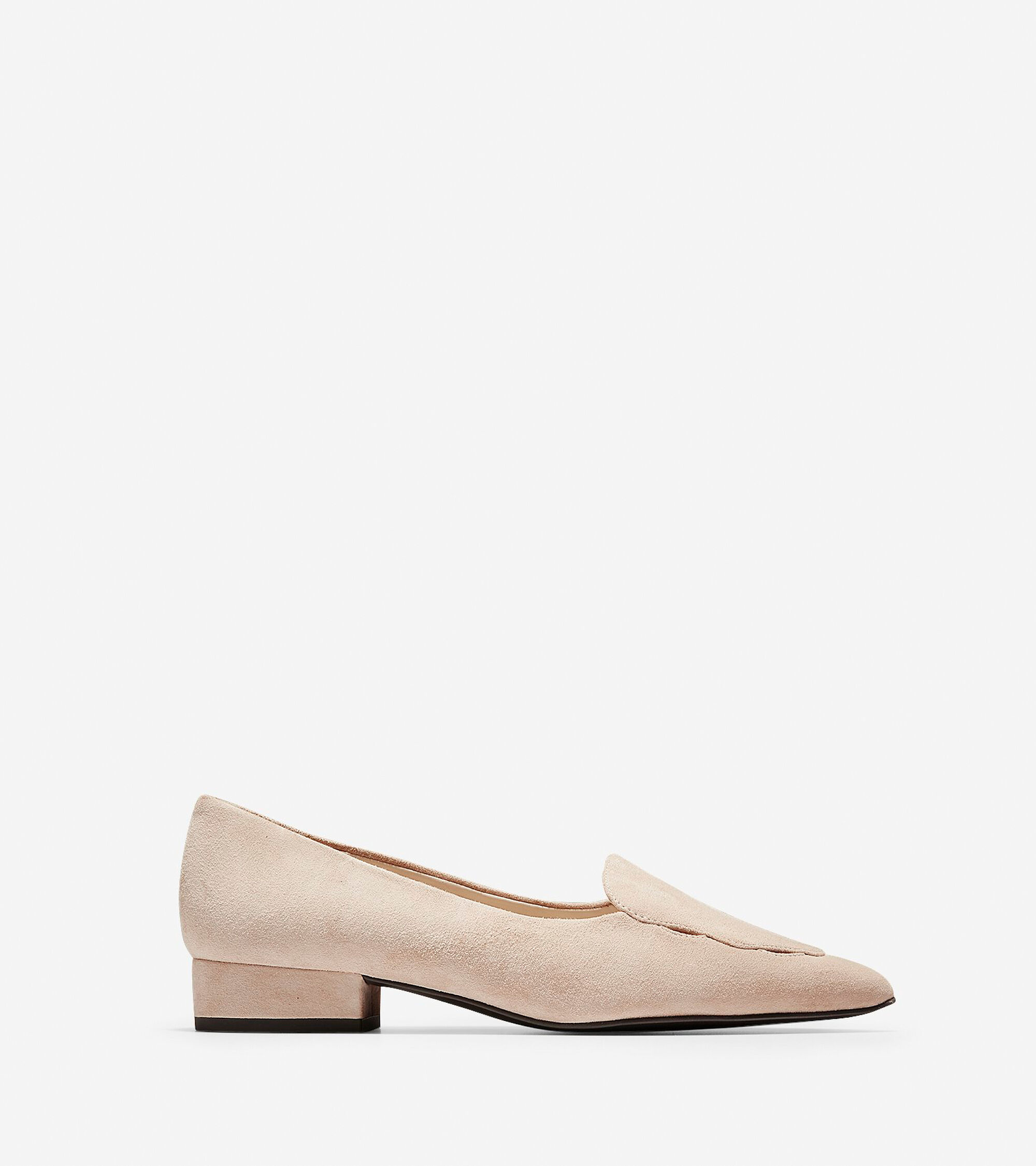 d722cfd7c92 Women s Leah Skimmer Flats in Nude Suede