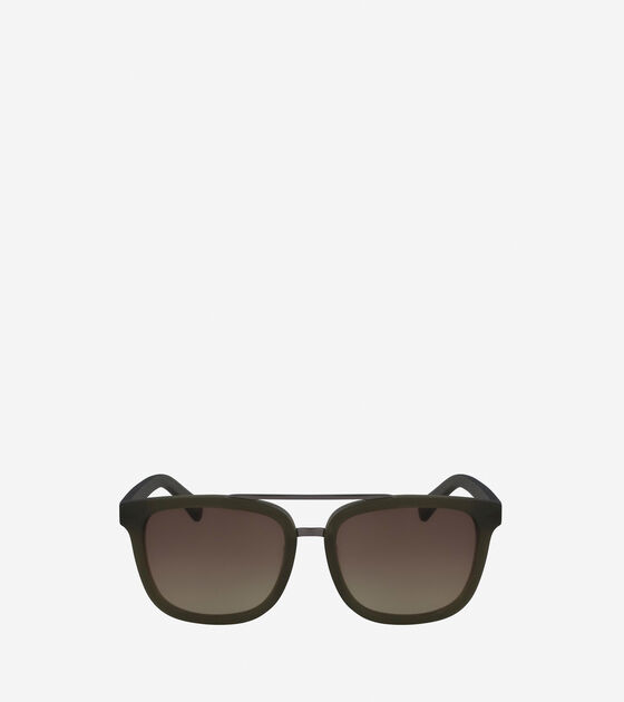 Sunglasses > Acetate Modified Rectangle Sunglasses