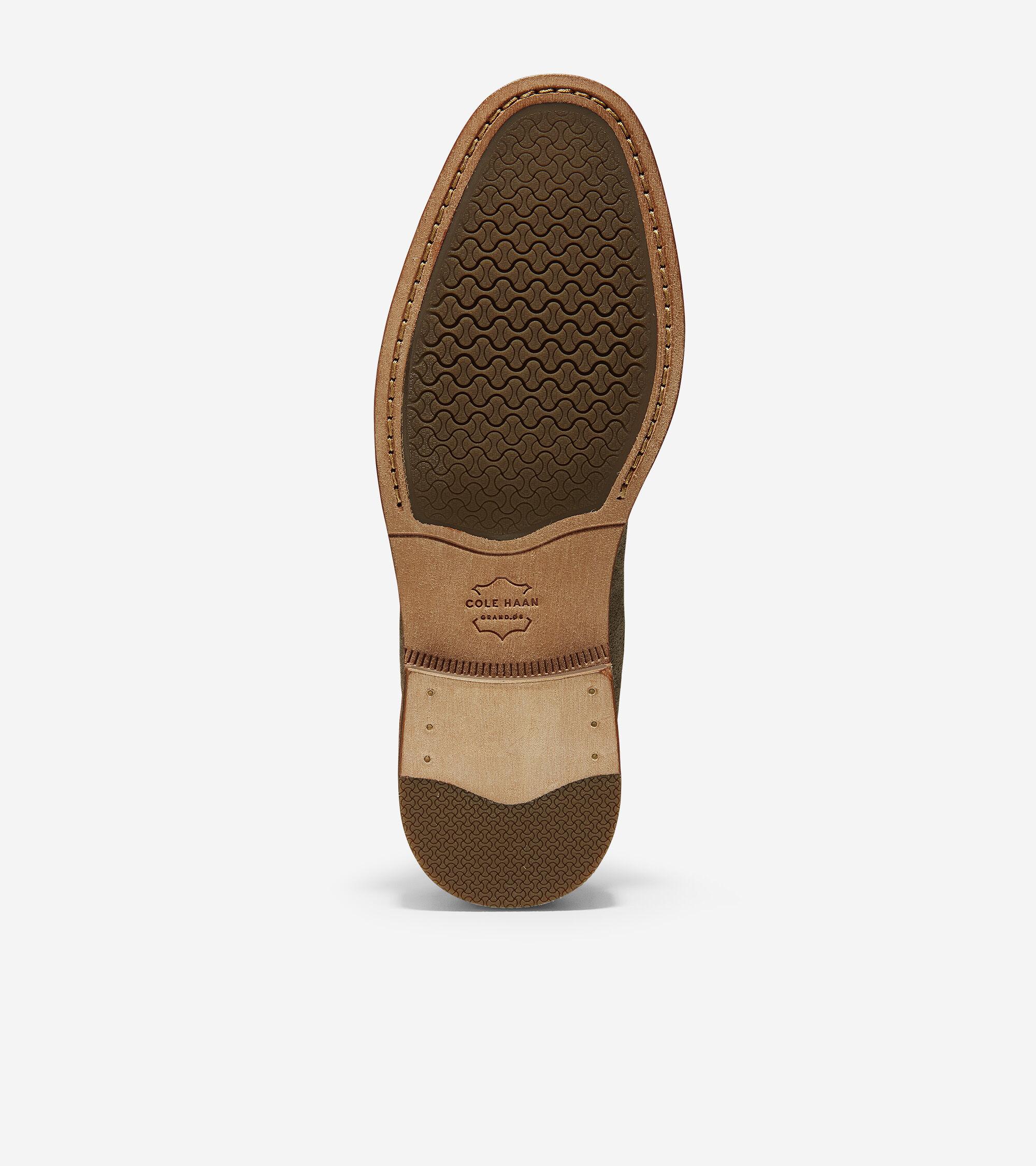 42dd63b1668 Men s Feathercraft Grand Venetian Loafers in Desert Beige