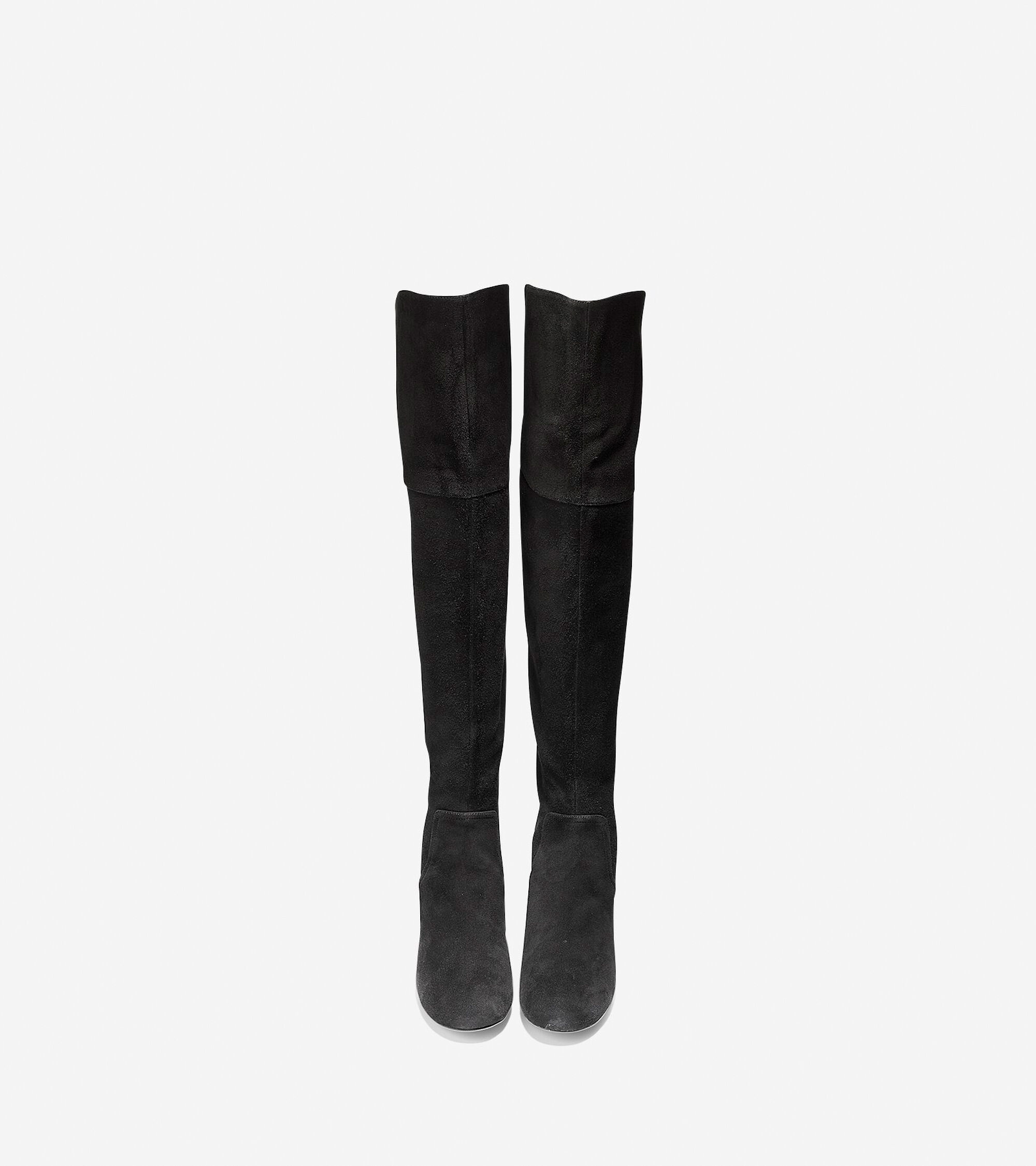 d9a43cab1b2 Women s Raina Grand Over The Knee Boots 55mm in Black