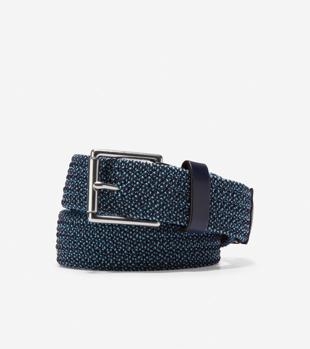 Mens Stretch Weave 32mm Belt