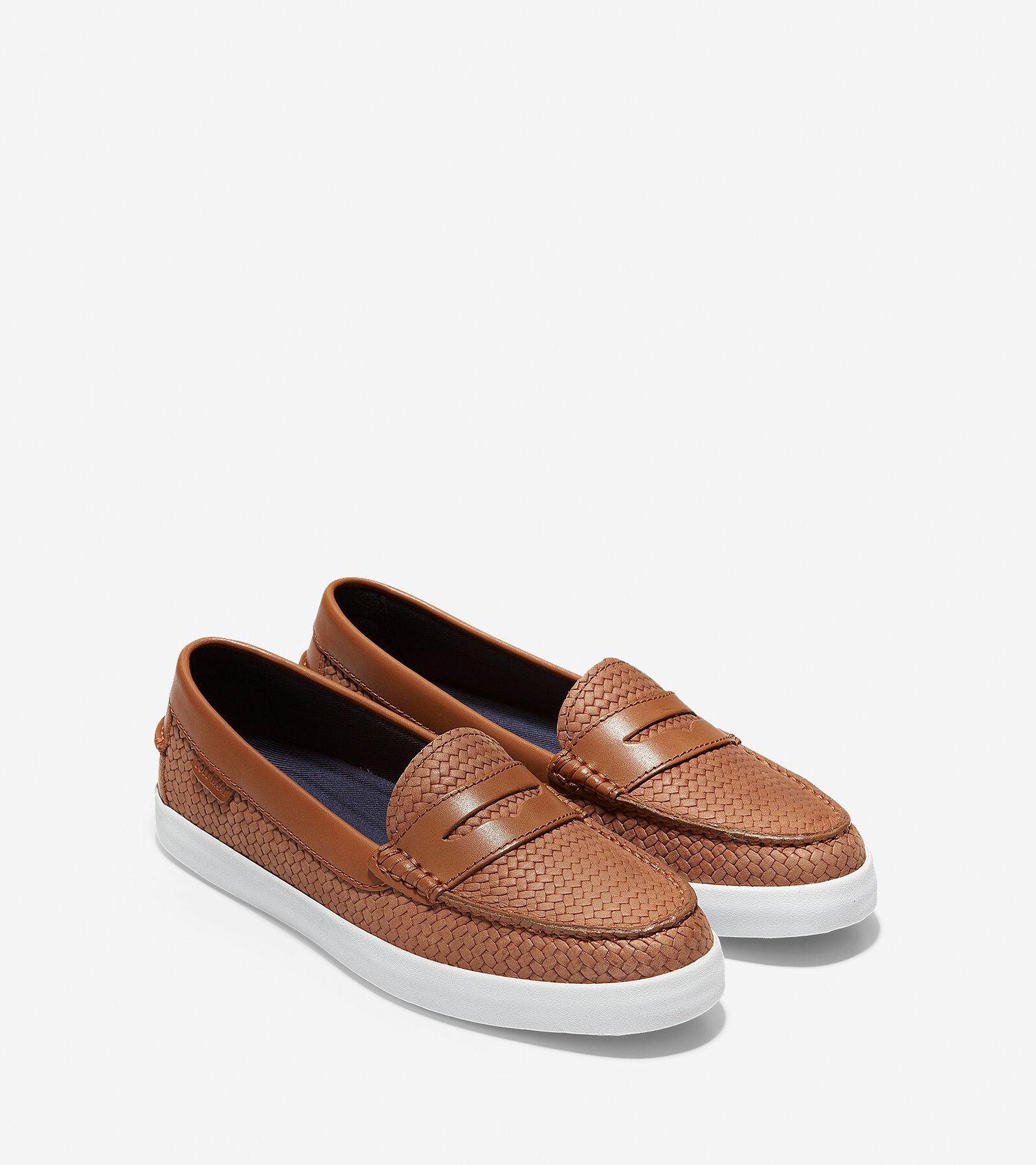 b351b547406 Womens nantucket loafers in british tan weave cole haan jpg 2000x2250 Tan  womens loafers