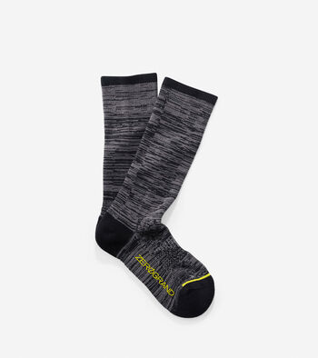 ZERØGRAND Flat Knit Crew Socks