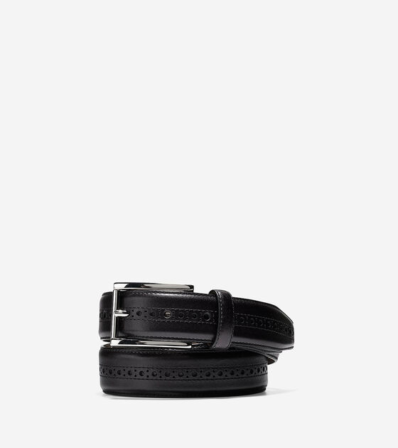 Accessories & Outerwear > Hamilton Grand 32mm Brogued Belt