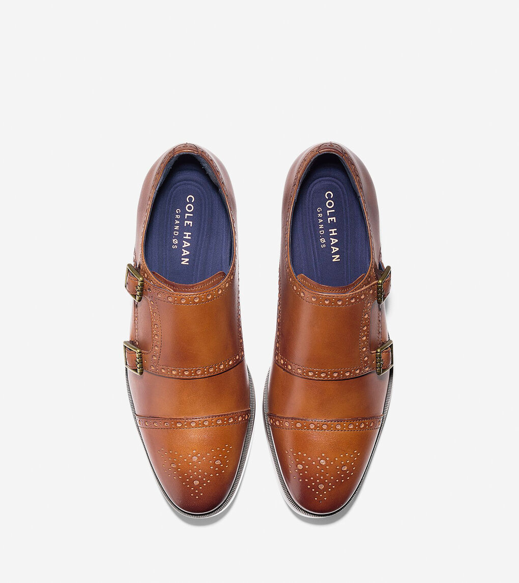 free delivery detailed pictures real quality Jefferson Grand Double Monk Strap Oxford