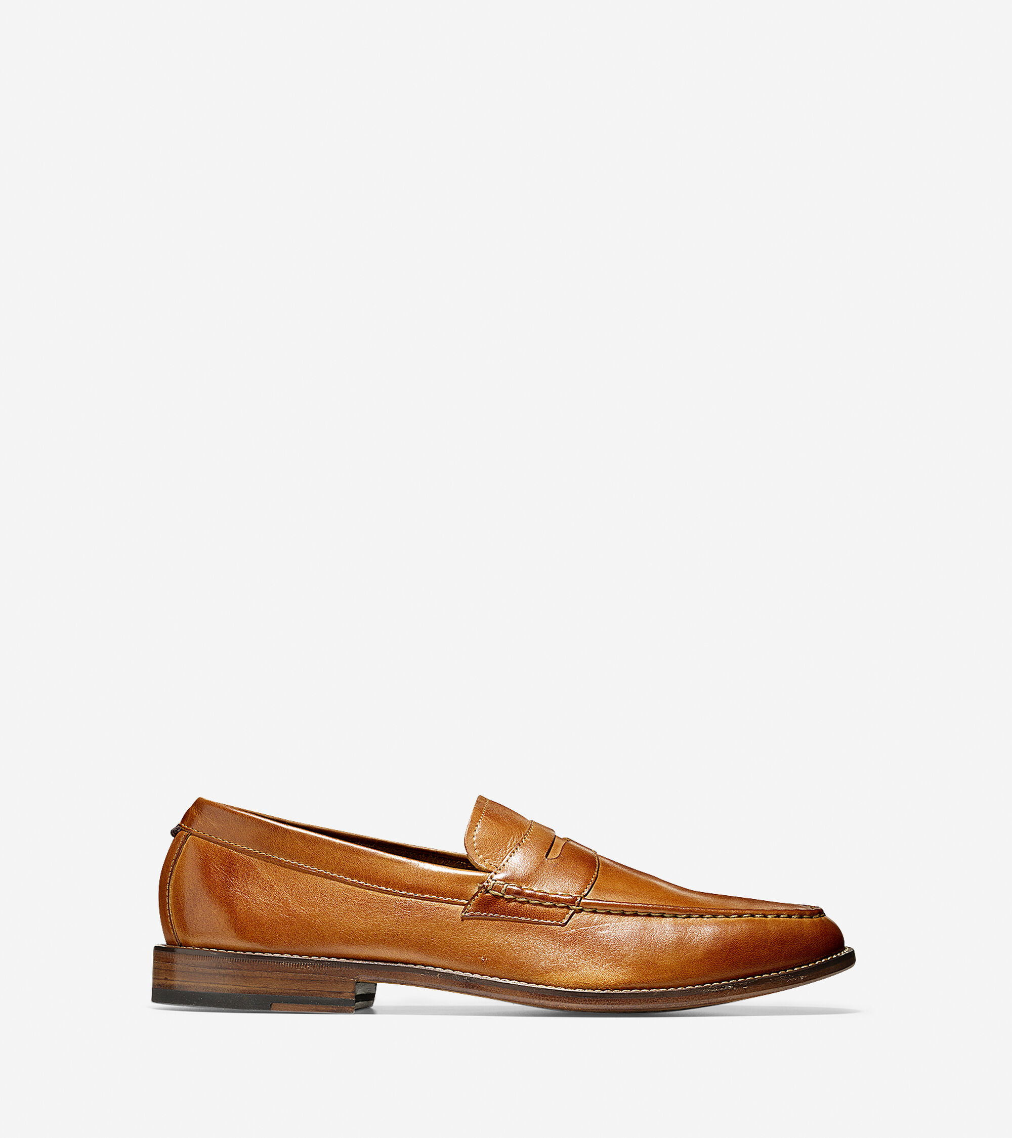 811efe57461 Willet Penny Loafers in British Tan   Mens Shoes