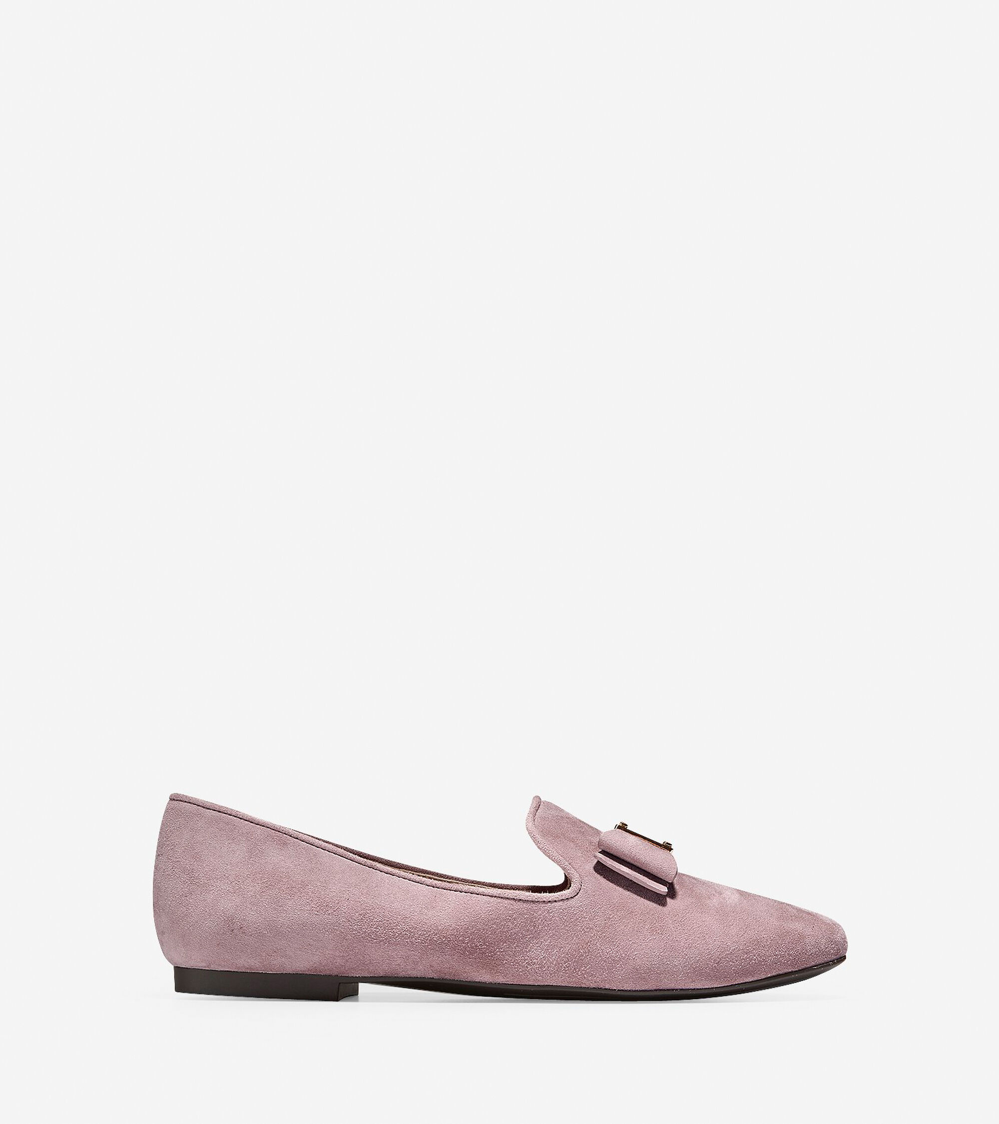 a47cdb456dc Women s Tali Bow Loafers in Twilight Mauve Suede