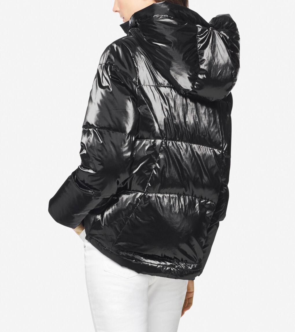 Womens Glazed Down Jacket