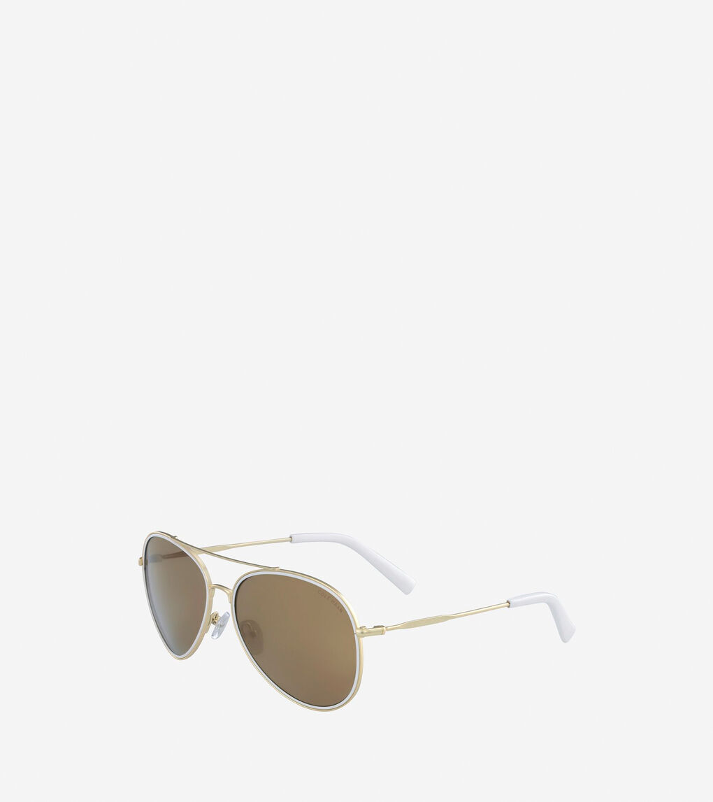 Womens Grand Aviator Sunglasses