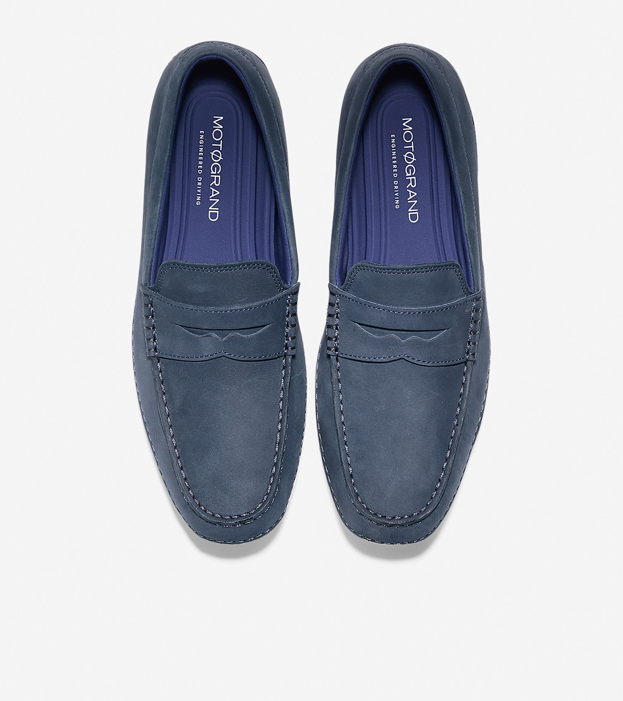 4aef60439e Men's MotoGrand Penny Drivers in Navy Ink | Cole Haan