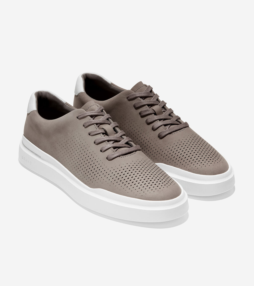 Mens GrandPrø Rally Laser Cut Sneaker