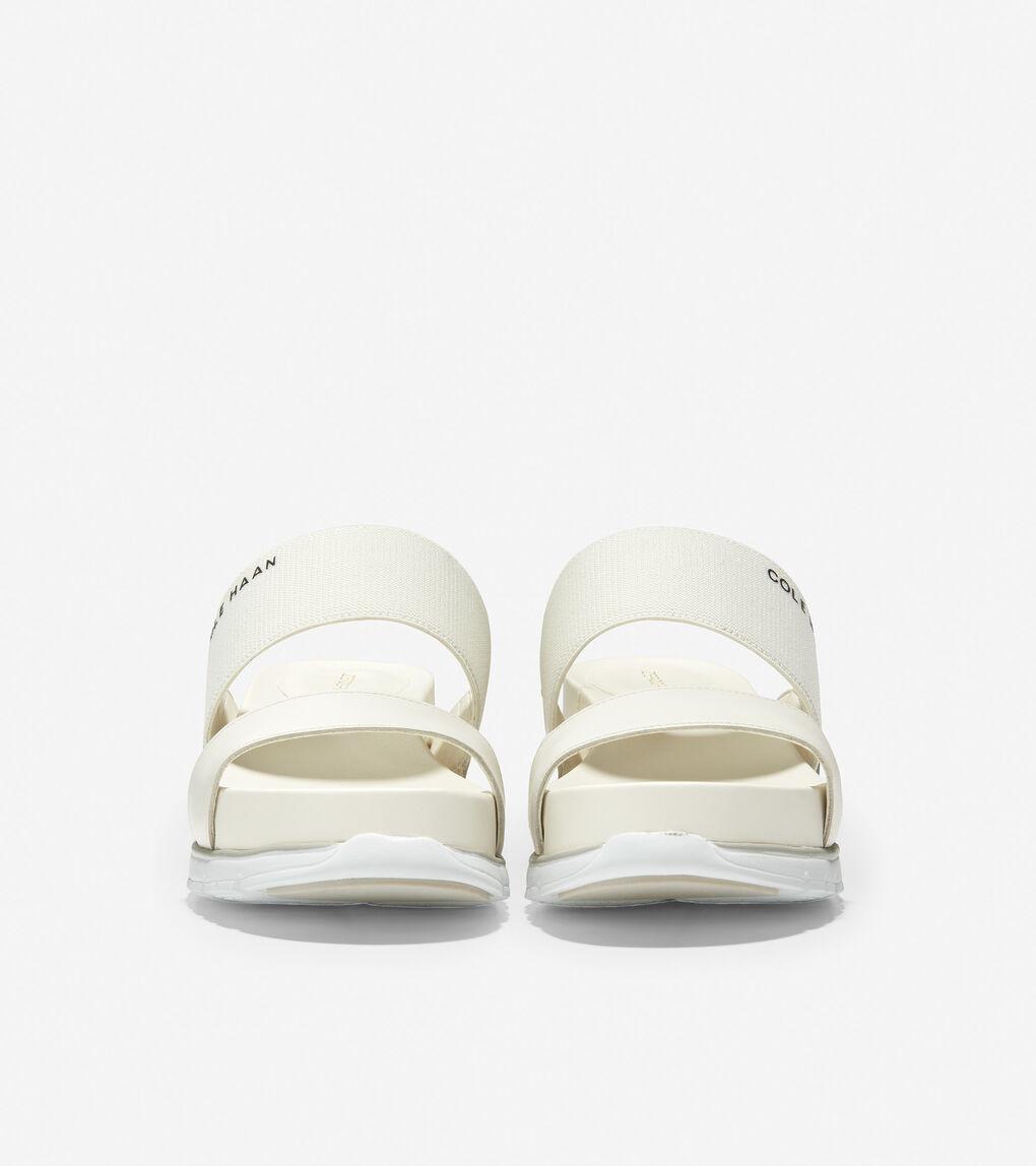 WOMENS ZERØGRAND Double Band Slide Sandal