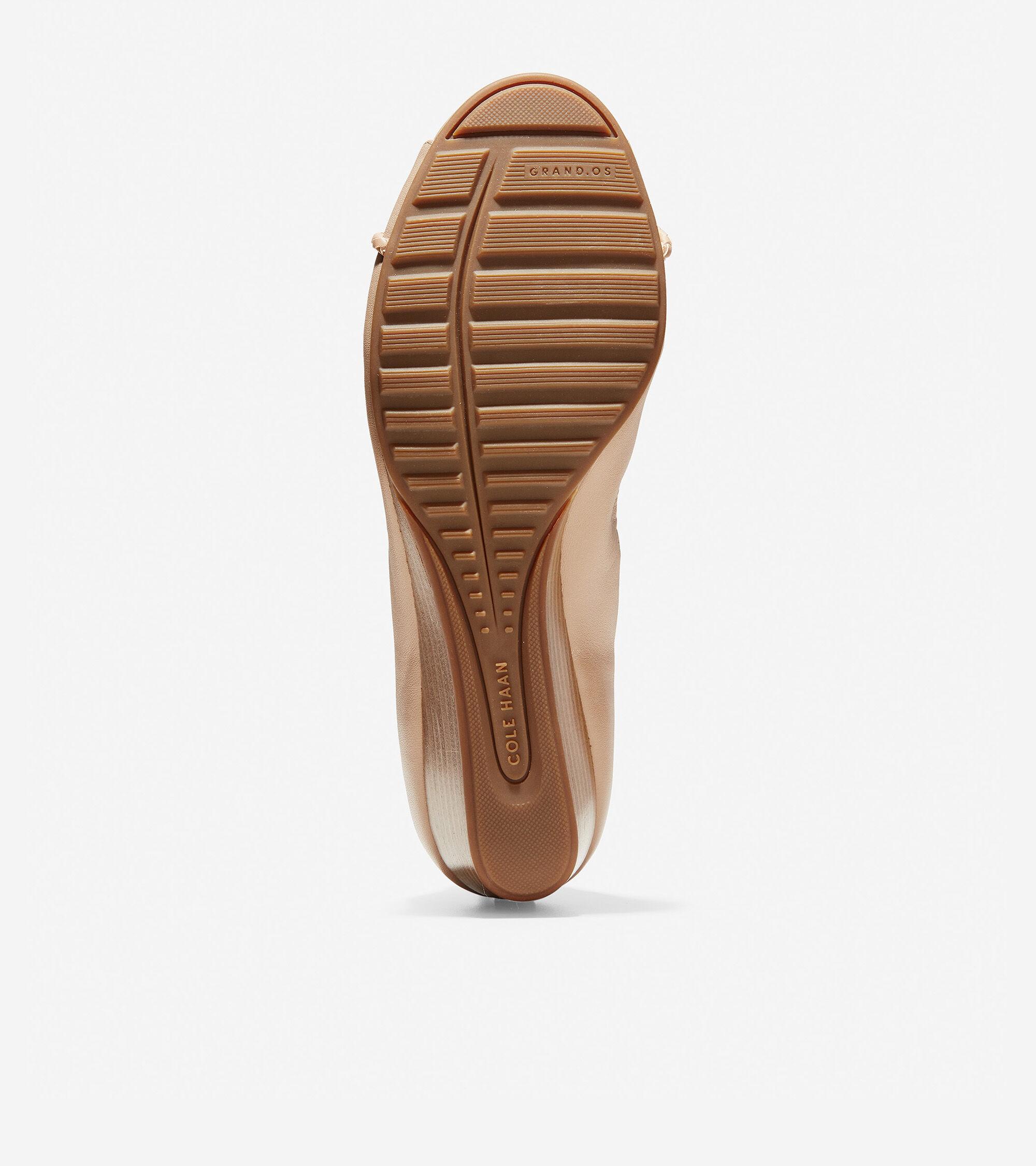 cole haan emory wedge open toe