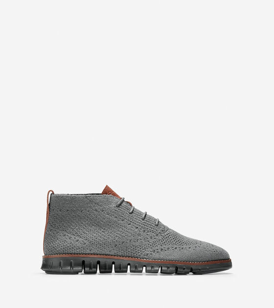 Boots > Men's ZERØGRAND Chukka with Stitchlite™ Wool