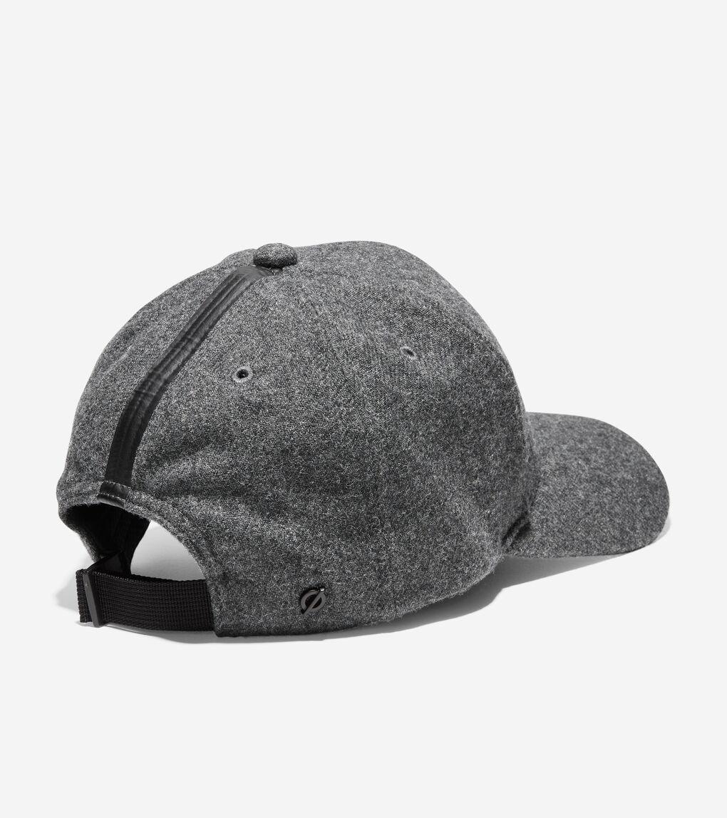 Mens ZERØGRAND Wool Baseball Hat
