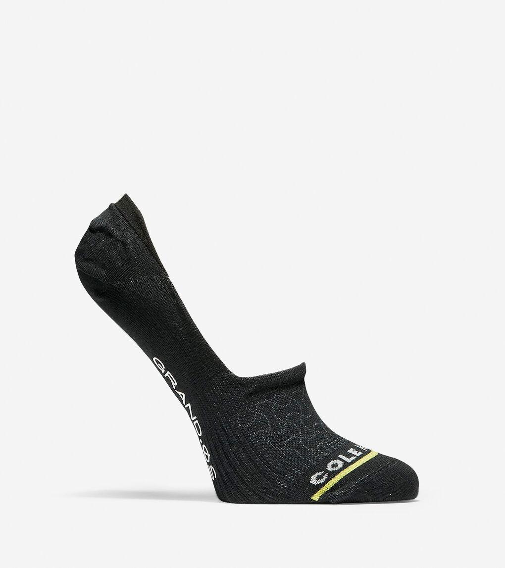 Womens Grand.ØS Auxetic Texture No-Show Socks