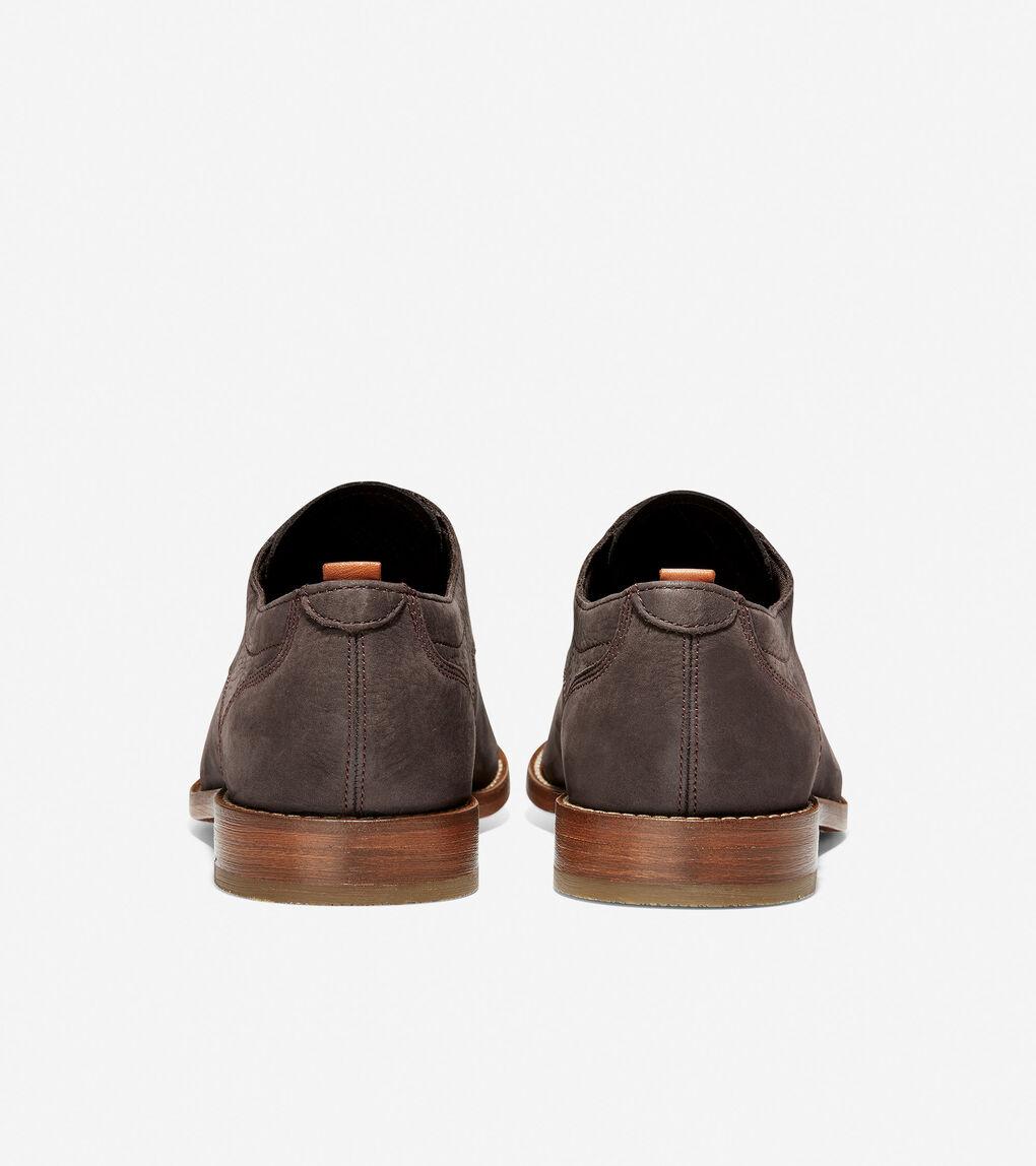 Cole Haan Men/'s Feathercraft Grand Blucher Oxford Dark Roast Style C30503