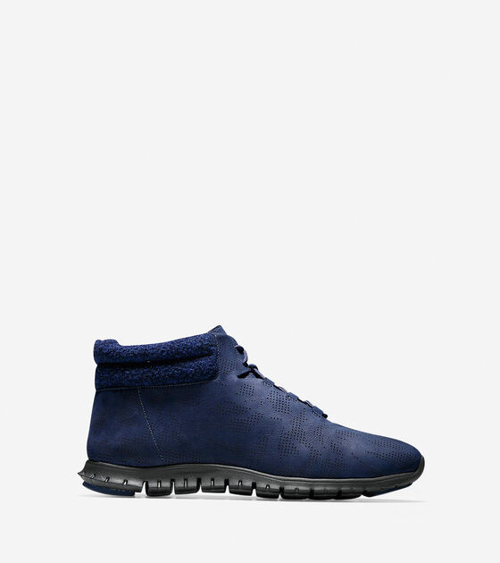 Shoes > Women's ZERØGRAND Winterized Perforated Chukka