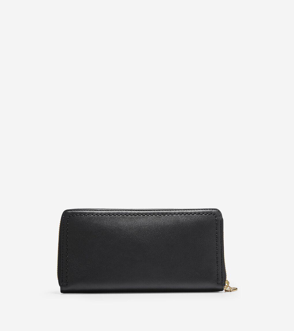 Womens Benson Continental Zip Wallet