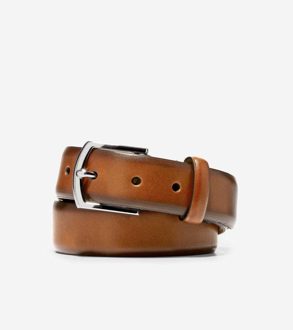 MENS Lewis 32mm Burnished Leather Belt