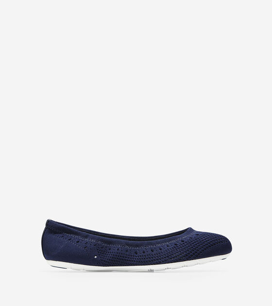 Shoes > Women's ZERØGRAND Ballet Flat with Stitchlite™