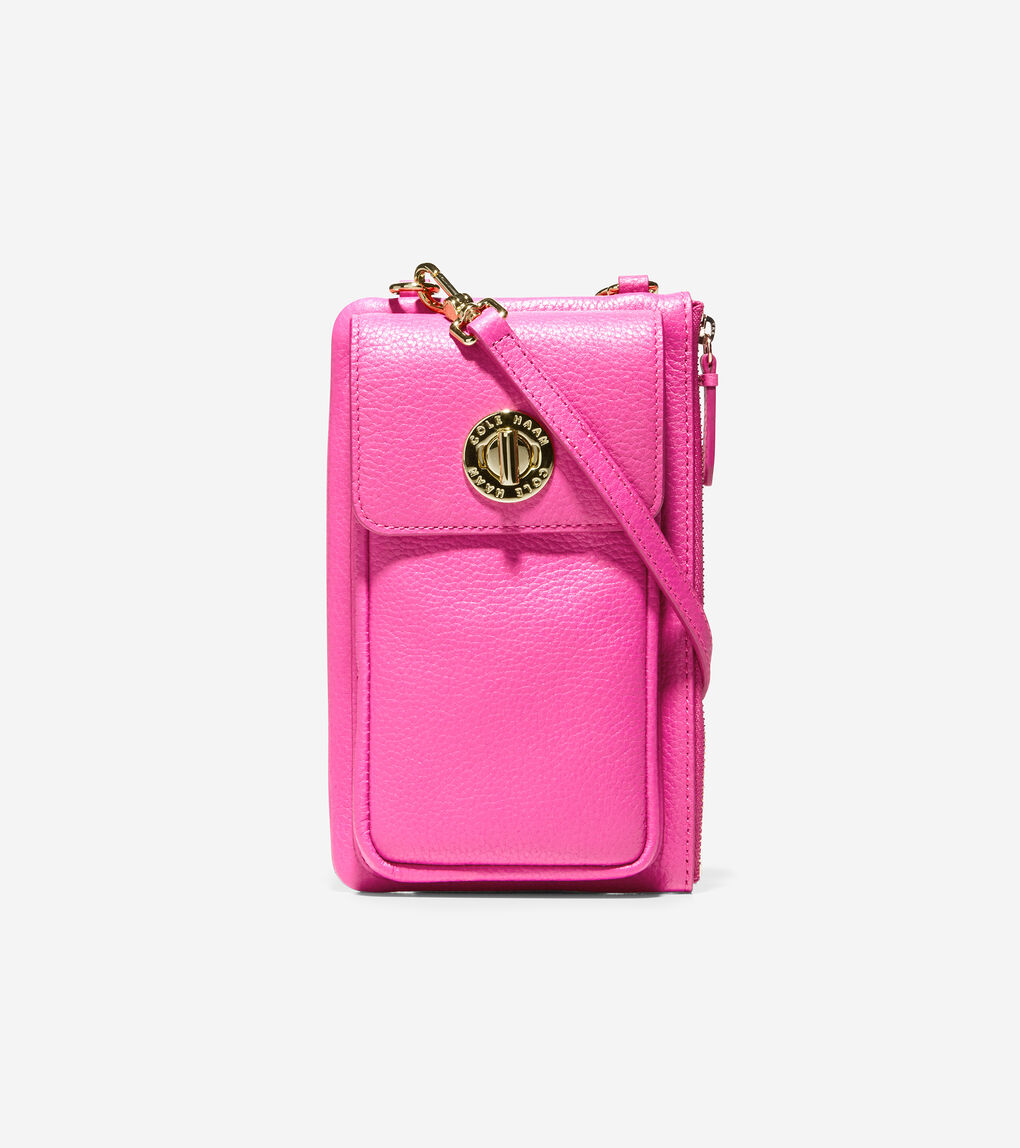 WOMENS Turnlock Cell Phone Crossbody