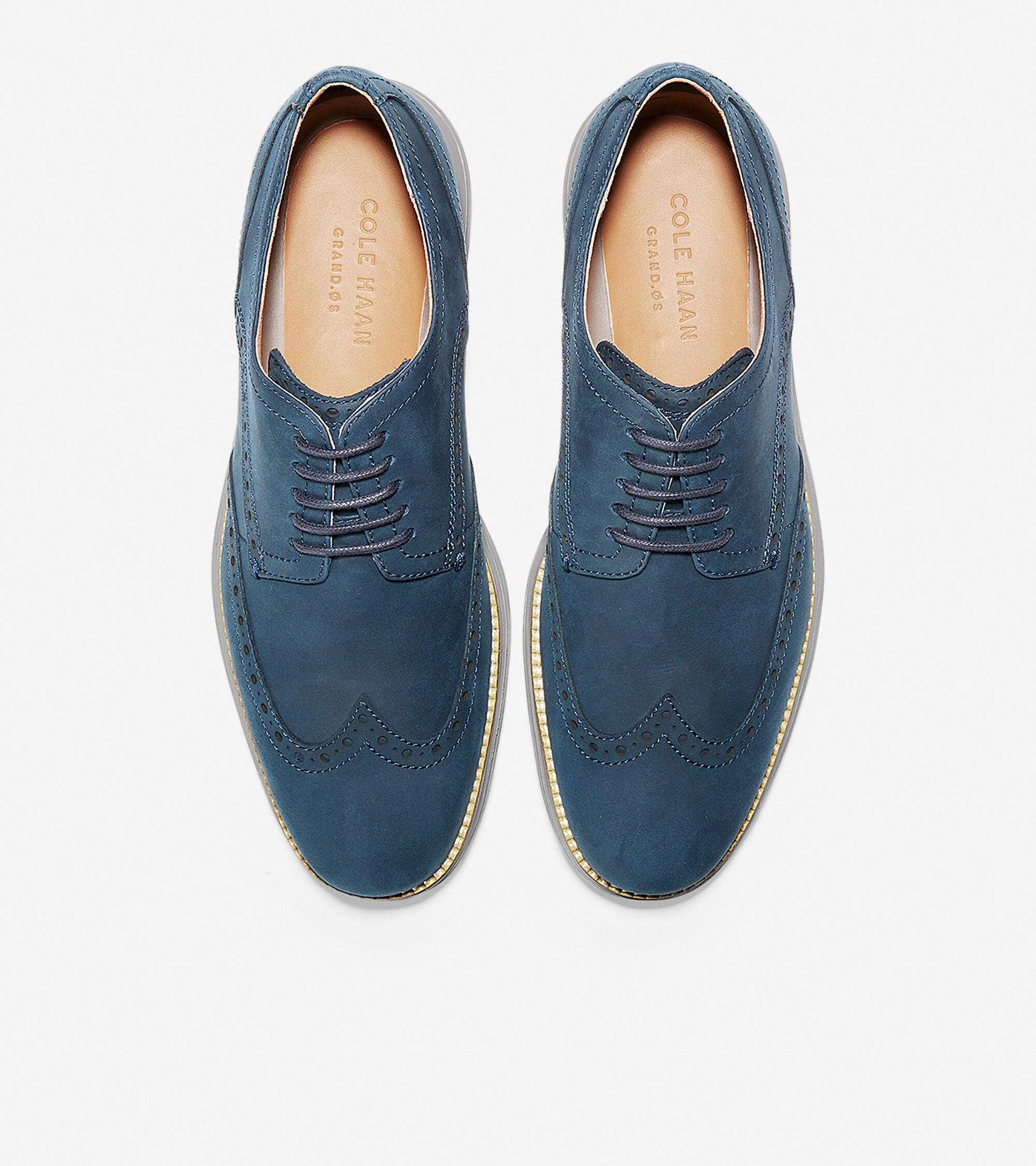 Blazer Blue Leather-ironstone