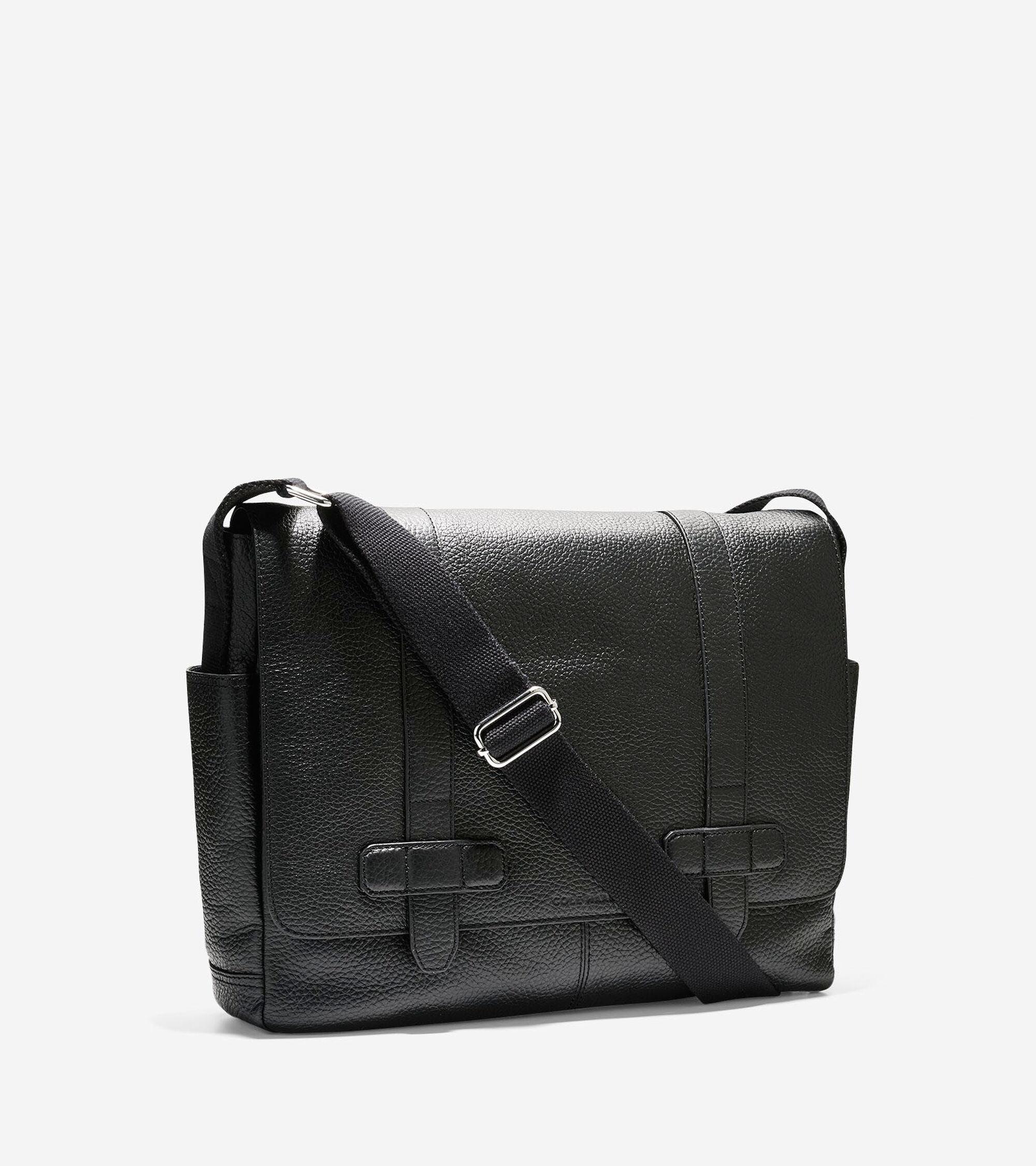7ce584ce06016 Barrington Messenger in Black   Mens Bags