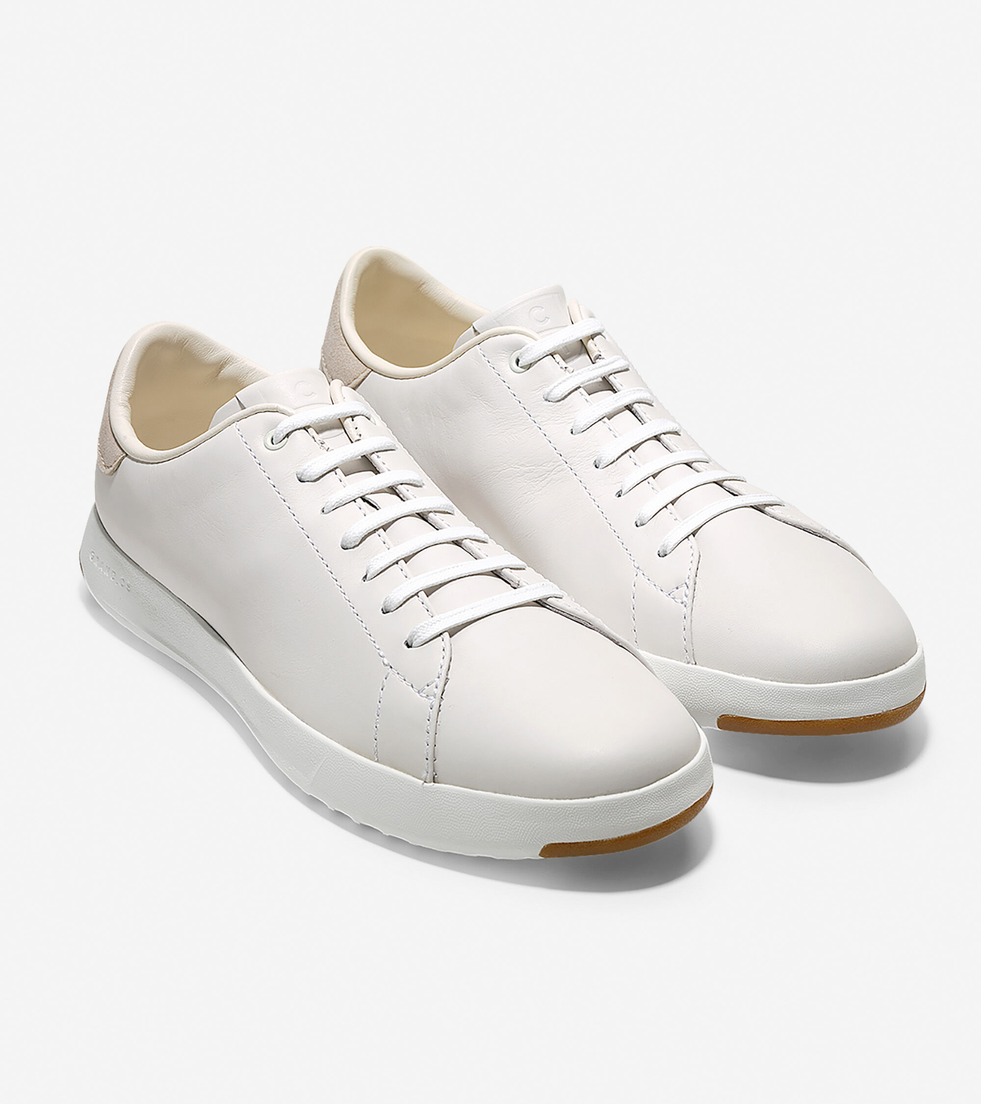 5cc8be3a4a064 Mens GrandPro Tennis Sneakers in White | Cole Haan